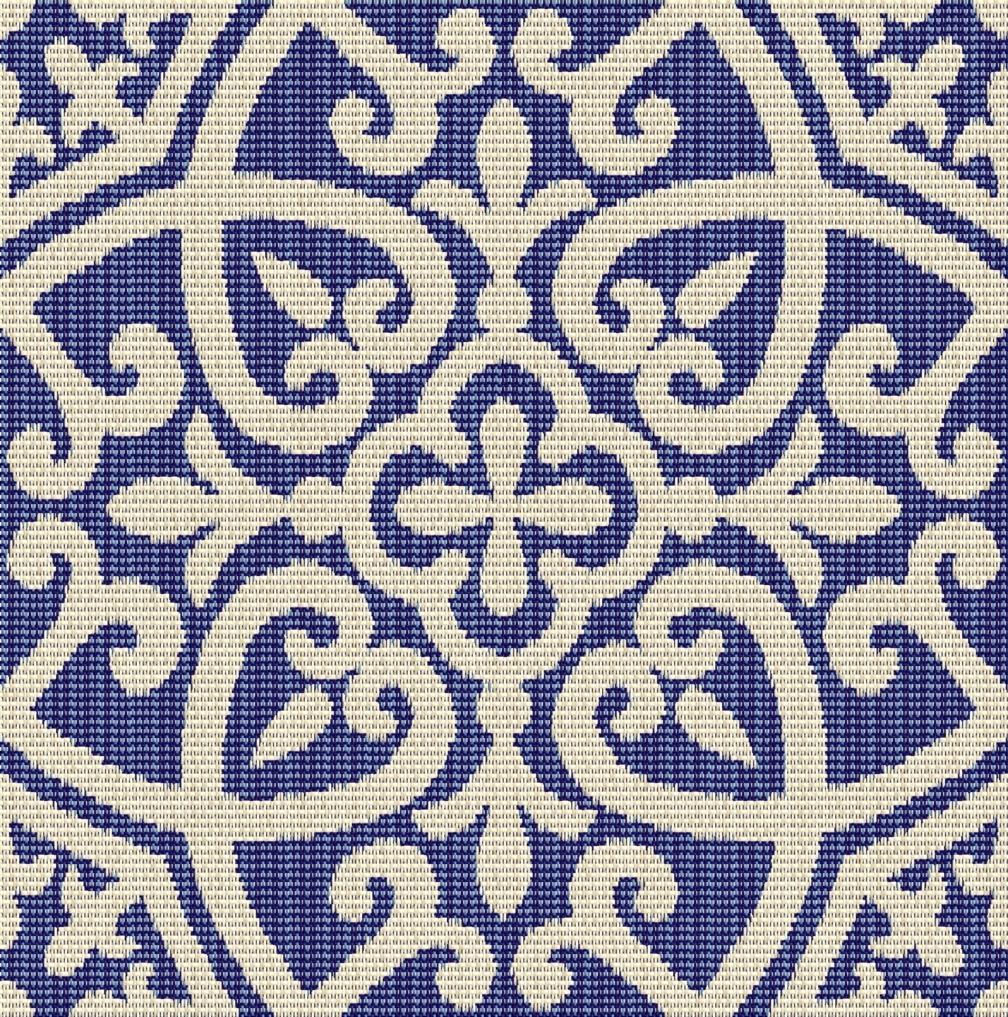 Outdura Fabric 2481 Avalon Sapphire New