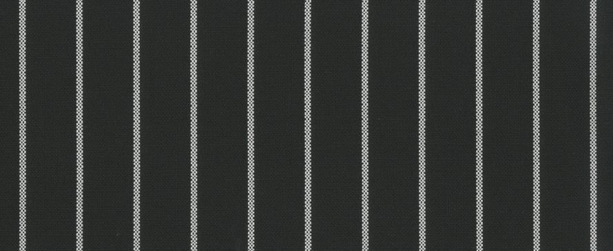 Tempotest Molto Bene 917 Black White Thin Stripe Fabric